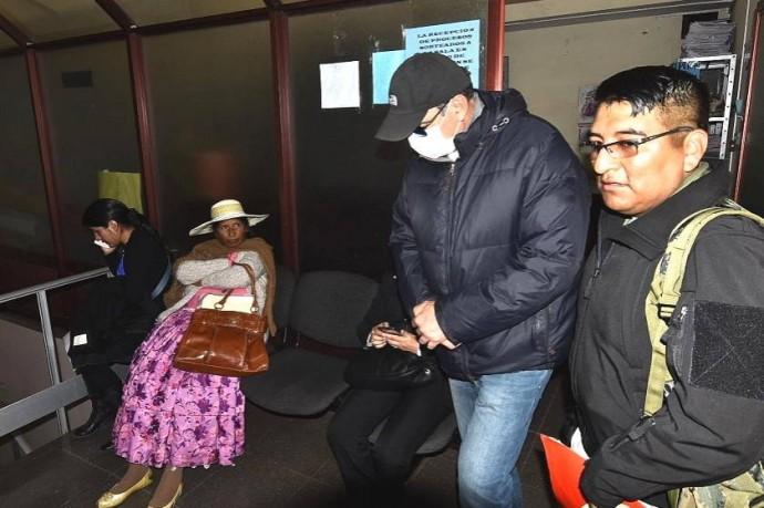 Juan Carlos Gott sale de una de las varias audiencias. Foto: Archivo