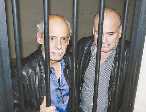 Carlos Chávez y Alberto Lozada cuando fueron aprehendidos.