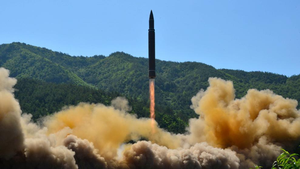 Corea del Norte lanza un misil balístico no identificado hacia el este del país