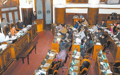 Análisis. Diputados cuando aprobaron el proyecto de Código del Sistema Penal y enviaron a la Cámara de Senadores para su revisión.