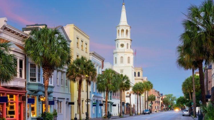 Charleston, la ciudad de Carolina del Sur testigode la colonia, la independencia y la disputa entre el sur y el norte por la esclavitud.Desaparecerá bajo el agua por el efecto invernadero.(Istock)