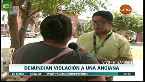 Denuncian abuso sexual a una anciana