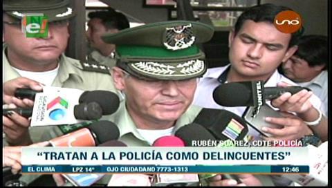 """Rubén Suárez: """"Quieren tratar a la Policía como si fuéramos delincuentes"""""""