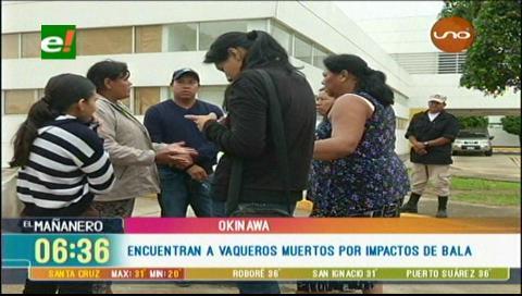Santa Cruz. Hallan dos hombres muertos en Okinawa; sospechan homicidio-suicidio