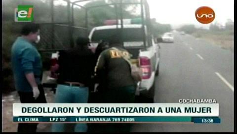 Aún no identifican a mujer degollada en Tarata e investigación se estanca