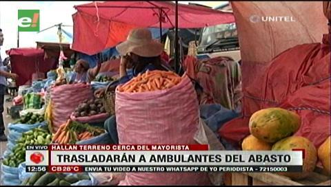Ambulantes del Abasto serán llevados a un mercado cercano al mayorista