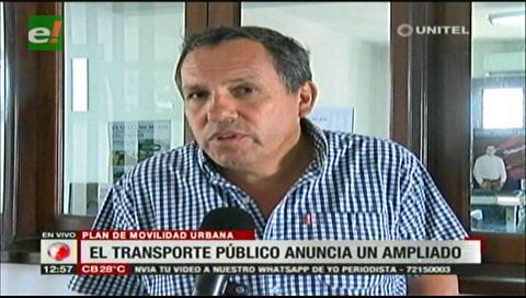 Transporte público no conoce el Plan de Movilidad Urbana de la Alcaldía cruceña