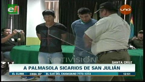 Envían a Palmasola a joven que contrató a matones para asesinar a su padre