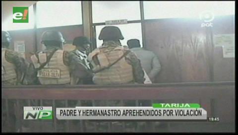 Tarija: Menor de edad denunció a su padre y hermanastro por violación