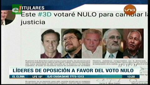 Video titulares de noticias de TV – Bolivia, mediodía del miércoles 22 de noviembre de 2017