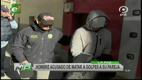 La Paz: Capturan a sujeto acusado de asesinar a su pareja a golpes