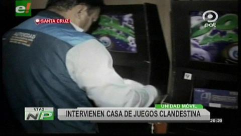 Santa Cruz: Decomisan 33 máquinas de juego tras un operativo