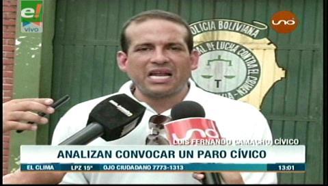 Cívicos decidirán la fecha para la Asamblea de la Cruceñidad contra fallo del TCP
