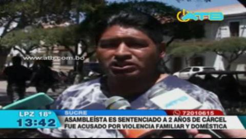 Asambleísta es sentenciado a 2 años de cárcel por violencia doméstica