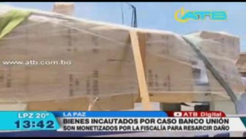 Fiscalía monetiza bienes incautados del Banco Unión para resarcir el daño