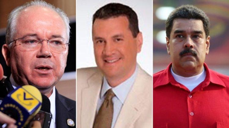 Rafael Ramírez, Diego Salazar, Nicolás Maduro