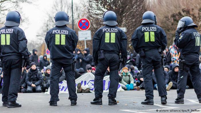 Protestas contra la AfD en Hannover