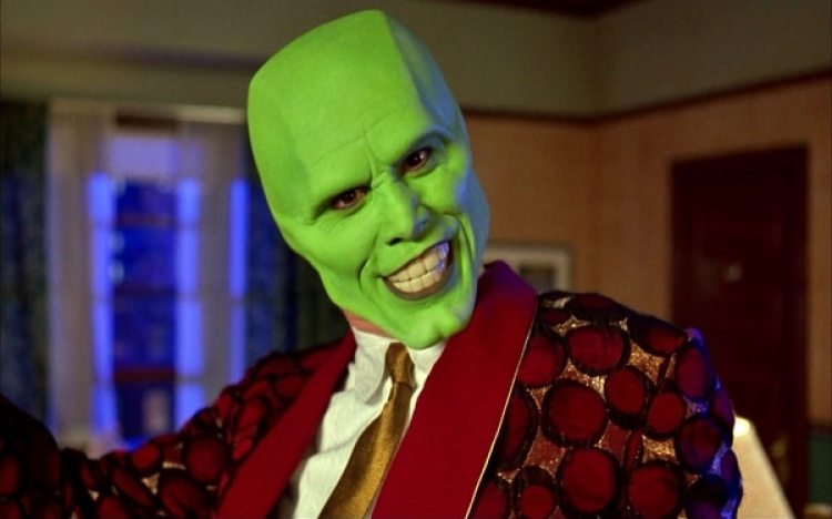 "Carrey en ""The Mask"""