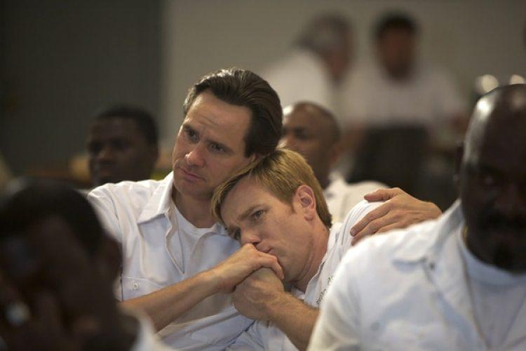 "Carrey y Ewan McGregor en ""I Love Your Phillip Morris"""