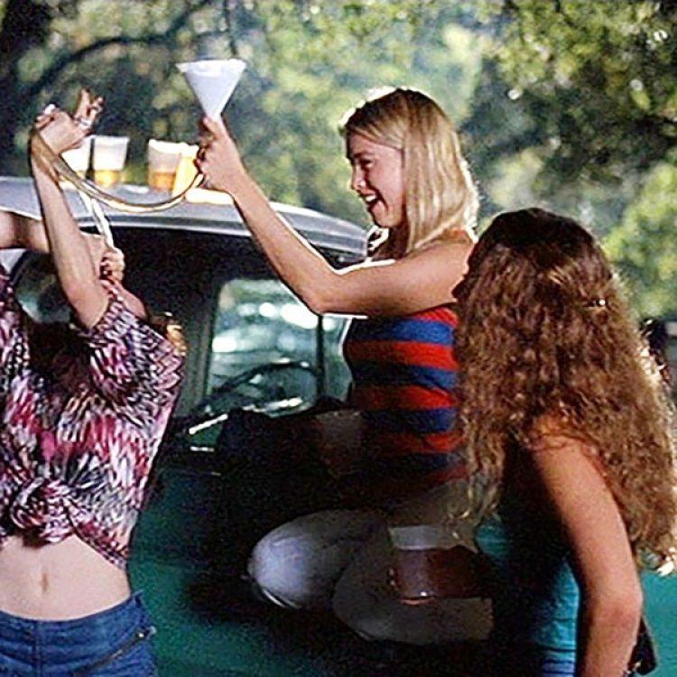 Renée Zellweger fue una de las chicas en Dazed and Confused (1993).