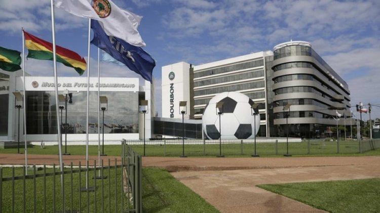 Edificio central de Conmebol en Paraguay