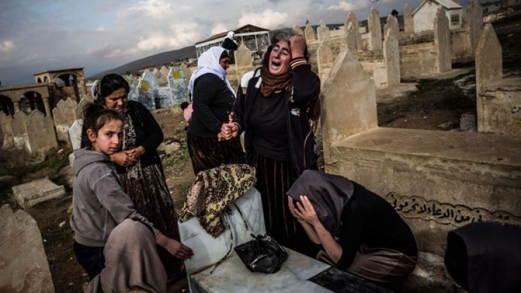 La comunidad yazidí es una de las más perseguidas por los terroristas de ISIS