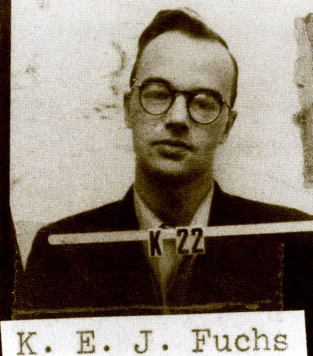 Foto: Fuchs en su ficha en el proyecto de Los Álamos. (Cordon Press)