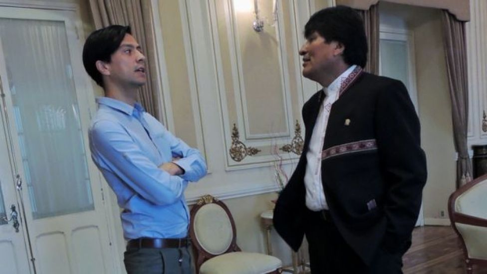 Evo Morales en entrevista