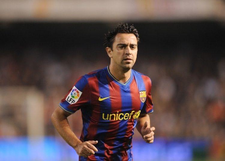 2009: Xavi figura del Barcelona que ganó la Champions League, la Liga, la Copa del Rey y el mundial de Clubes (Getty)