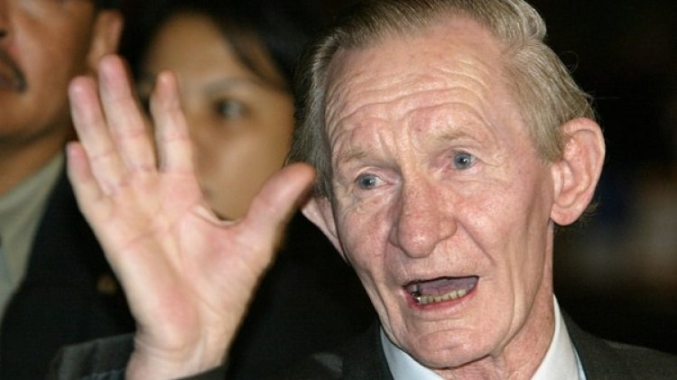El desertor estadounidense Charles Jenkins en una foto de 2004 (Reutres)