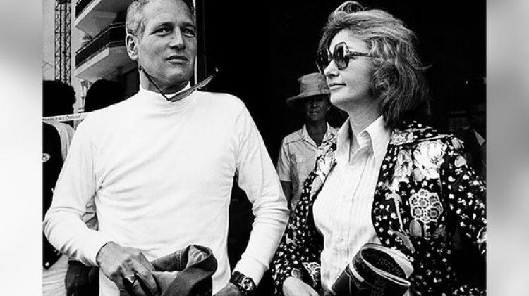 Paul Newman con el Rolex que le regaló supareja de toda la vida, Joanne Woodward