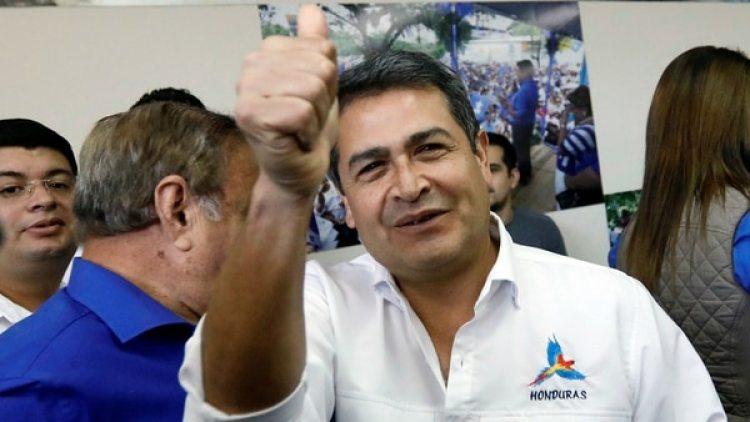 El presidente de Honduras Juan Hernández. (Reuters)