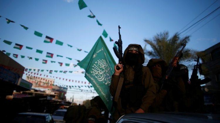 Miembros del grupo terrorita Hamás. (Reuters)