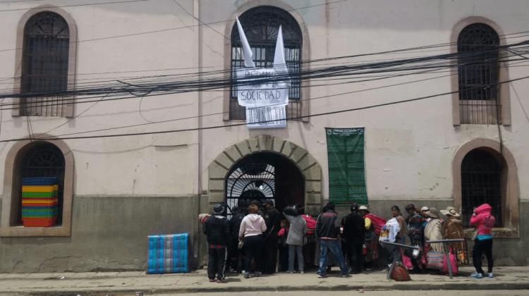Ingreso cárcel San Pedro ANF