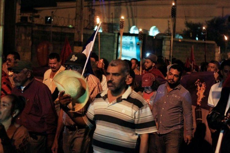 Protestas en Tegucigalpa. (REUTERS/Jorge Cabrera)