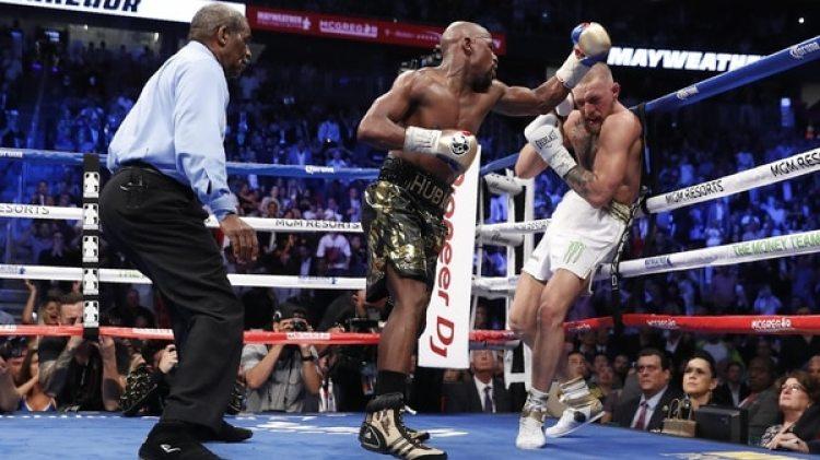 Floyd Mayweather Jr. y Conor McGregor protagonizaron el segundo evento más rentable de la historia(Reuters)