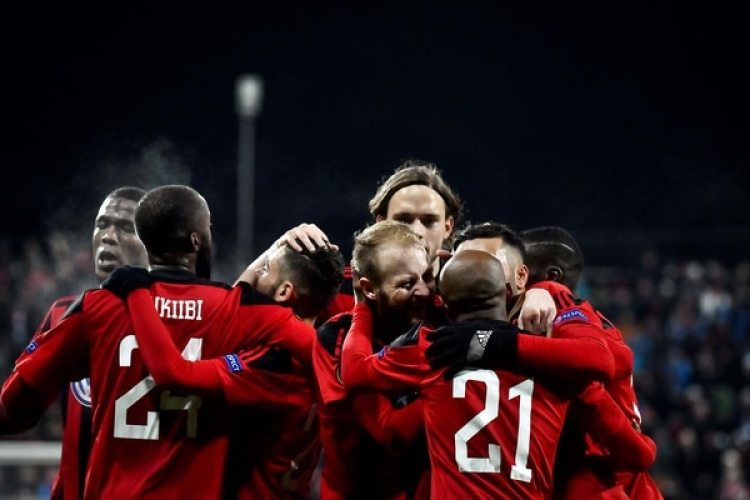 El Östersunds FK es el primer equipo sueco en la historia en alcanzar la fase eliminatorias en la Europa League(Reuters)