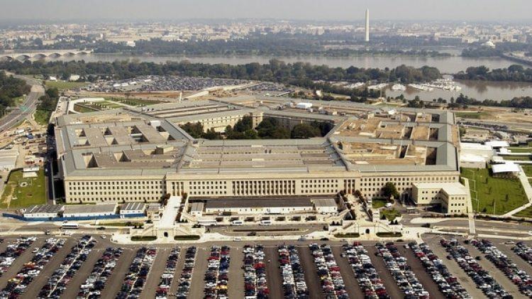 Vista aérea del Pentágono, sede del Departamento de Defensa de Estados Unidos(Andy Dunaway/USAF via Getty Images)
