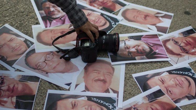 Ya son 11 los periodistas asesinados en México en 2017 (Getty)