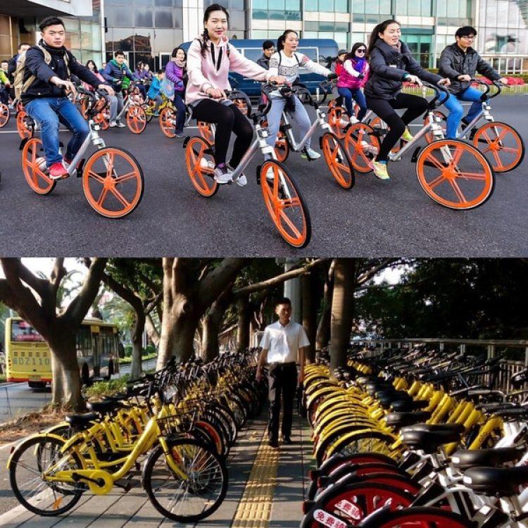 La industria de las bicicletas compartidas en China ha experimentado una explosión en la última década