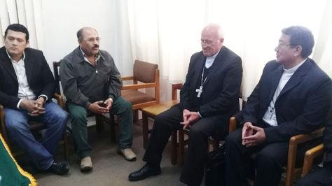Reunión médicos-Iglesia, hoy en La Paz