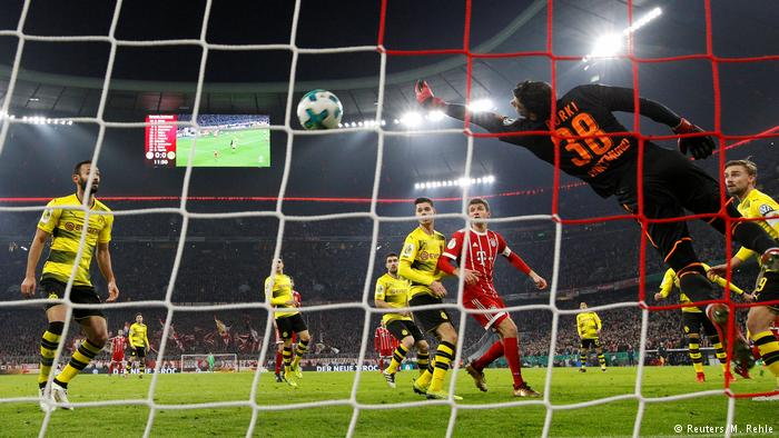 DFB Pokal Bayern München vs Borussia Dortmund - Tor 2:0 (Reuters/M. Rehle)