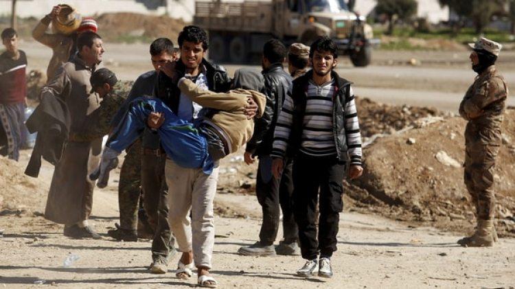 Más allá de la polémica por los números, se sabe que los civiles llevaron la peor parte durante la ocupación del ISIS y la liberación posterior de la ciudad (Reuters)
