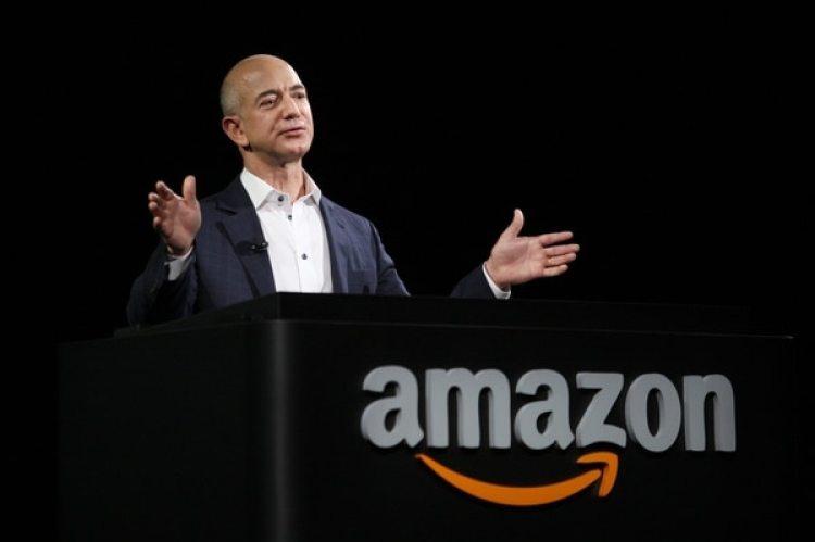 "Jess Bezos, creador de Amazon y dueño de ""The Washington Post""."