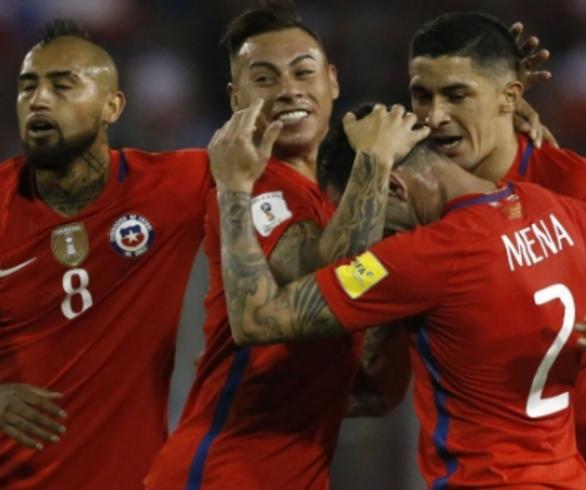 Resultado de imagen para seleccion chilena 2017