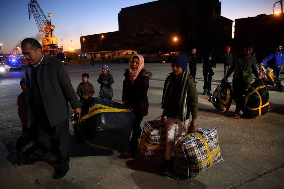 Los refugiados siguen llegando a Grecia huyendo de la guerra en países como Siria.