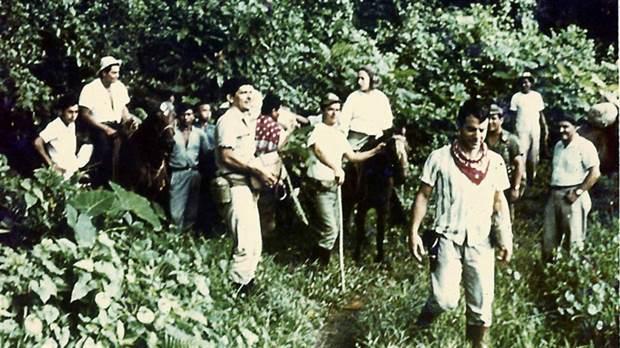 Búsqueda del avión TC48 en la selva