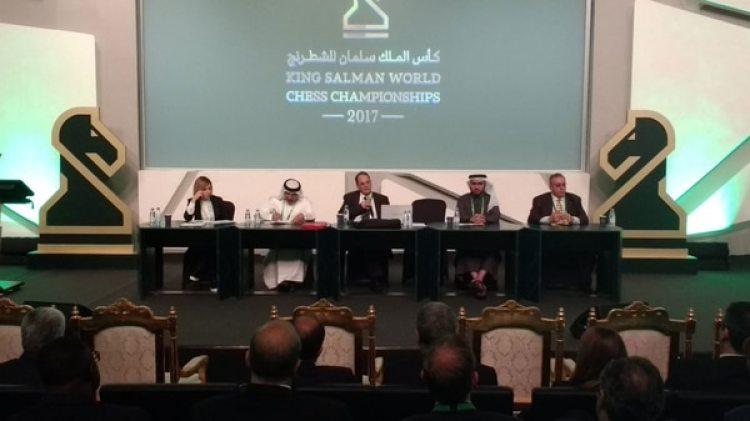 Los ajedrecistas iban a participar del torneo Rey Salman en Arabia Saudita