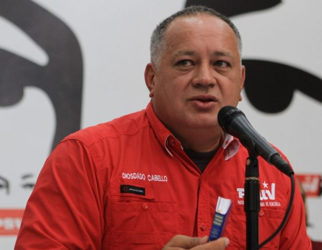 El constituyente Diosdado Cabello (Foto Archivo)