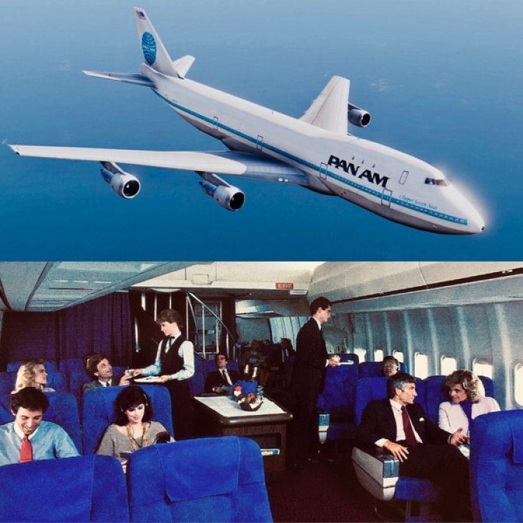 Un 747 de la desaparecida Pan Am